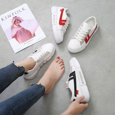 白色运动鞋女学生韩版休闲球懒人鞋学生帆布鞋欧洲站蔡徐坤同款鞋