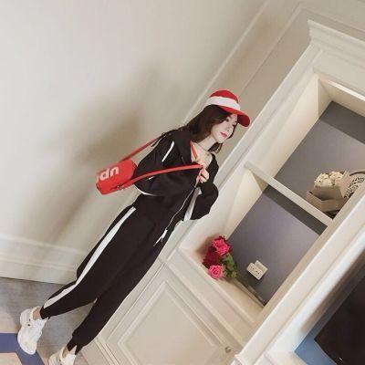 裙子秋季裤子女学生韩版宽松牛仔领连衣裙网红同款女装雪纺裙恤社