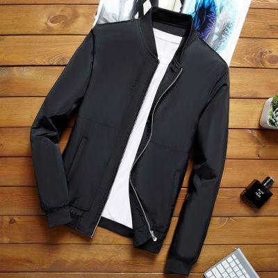 双面穿传奇夹啃春季新款夹啃式休闲飞行夹克青少年外套