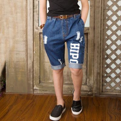 男孩衣服岁女孩牛仔裤黑色裤子中大女童秋装宝宝保暖裤背带裤长裤