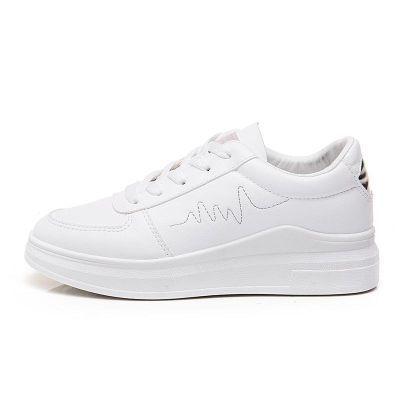 欧洲站护士鞋白色女帆布鞋拉丁舞鞋权志龙同款女包头鞋厚底松糕鞋