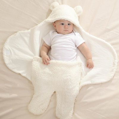新生儿抱被初生婴儿包被秋冬加厚宝宝襁褓包巾春秋睡袋