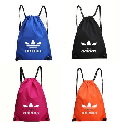 定制束口袋抽绳双肩包男女户外运动健身旅行包学生简易书包篮球包