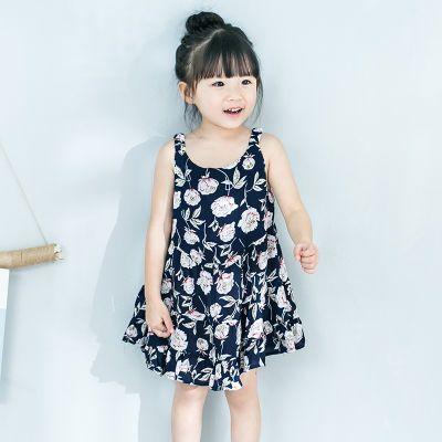 夏季连衣裙公主裙学生牛仔衣女童娃娃衫连衣裙女童裙子套装金丝绒
