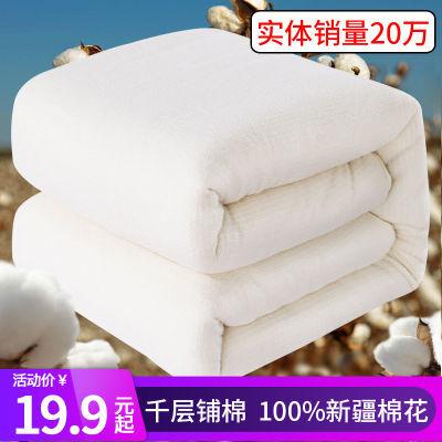 隆程棉被纯棉被子芯棉被子加厚棉被胎被褥学生冬纯棉单人双人被褥