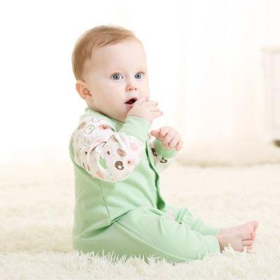 网红女同款衣服连体衣婴儿小公主保暖女婴儿衣服夏季车女童呢子儿