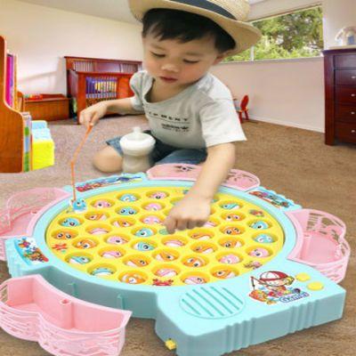 宝宝钓鱼玩具 儿童套装磁性益智1-3岁男孩2周4女孩6小孩0智力开发