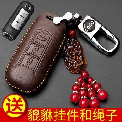 新款广汽传祺gs4钥匙包gs3扣gs7ga6gs5传奇gs8速博汽车真皮钥匙套
