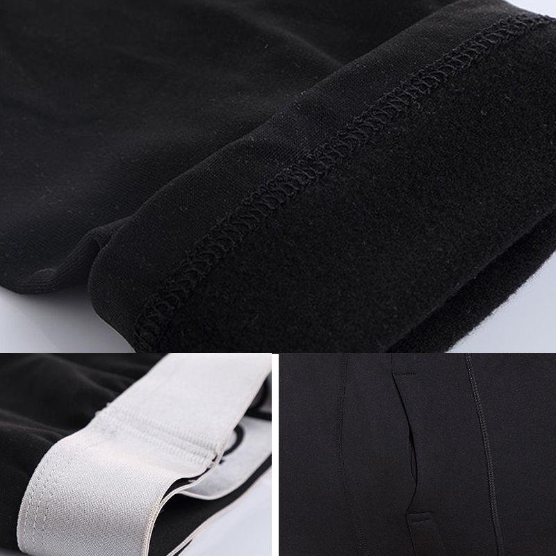 便宜的秋裤男士保暖裤男冬季加绒加厚紧身显瘦打底裤青年修身薄款加大码