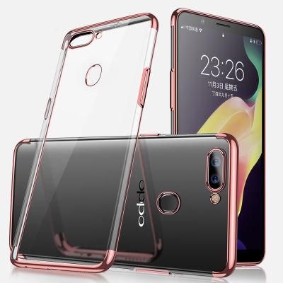 oppo r11s/r11splus手机壳r11st全包电镀防摔硅胶软壳透明超薄潮