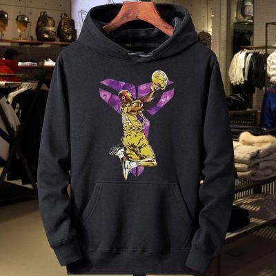 科比卫衣男连帽篮球训练服长袖秋冬季学生套头NBA湖人运动外套