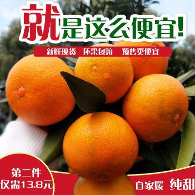 四川爱媛38号果冻橙柑橘手剥橙新鲜水果非不知火耙耙柑橘子包邮