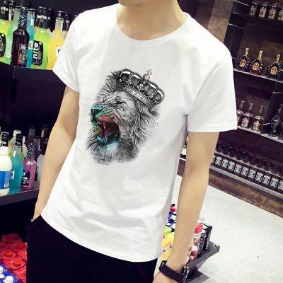 莫代尔单件 三件装夏季男士短袖T恤潮流体恤韩版学生圆领半袖男装