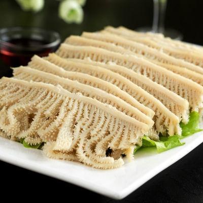 绿生源 新鲜牛百叶火锅配菜食材四川毛肚厂家批发白千层肚丝500g