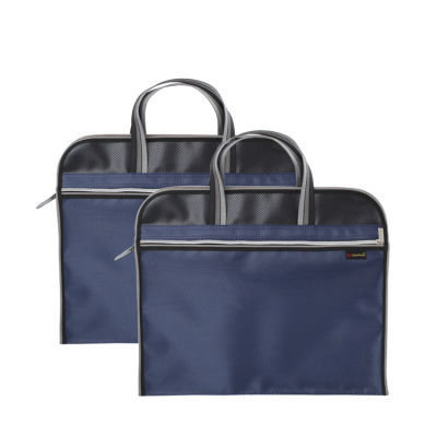 高升 手提拉链文件袋 新款时尚商务档案资料袋 收纳文件包