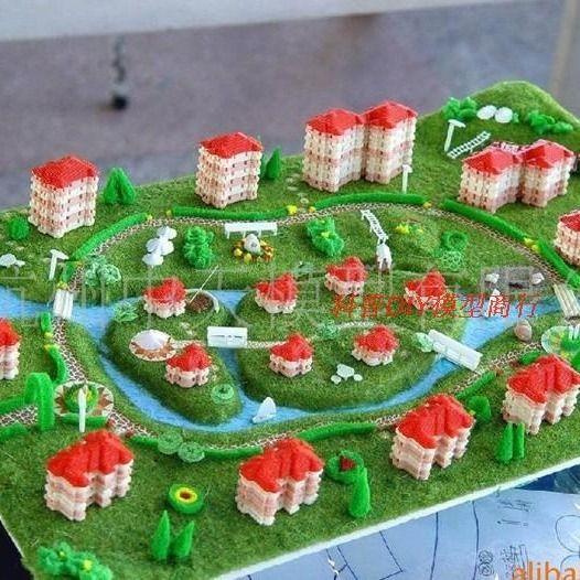 城市梦想区域规划竞赛模型 创意建筑diy科技制作模型中天建筑模型