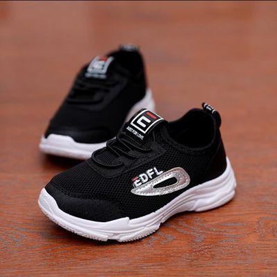 男童鞋儿童鞋秋季女单鞋女童鞋透气休闲女孩网鞋中小童跑步运动鞋