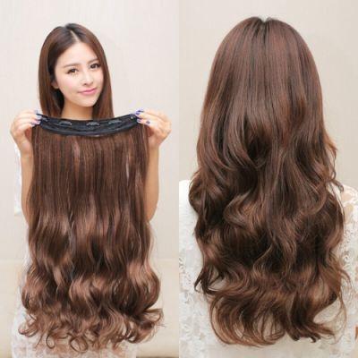 EE梦发园假发女长卷发大波浪假发片隐形一片式长发片假发女无痕接