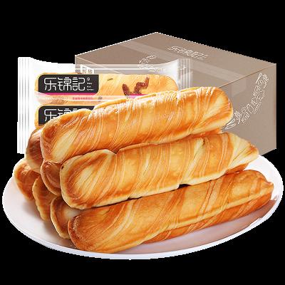 第二件9.8 乐锦记手撕面包营养原味撕棒小面包800/200克