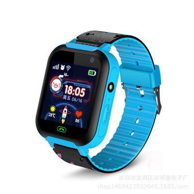 A25儿童电话手表小学生防水跟踪多功能定位女孩男孩智能插卡手表