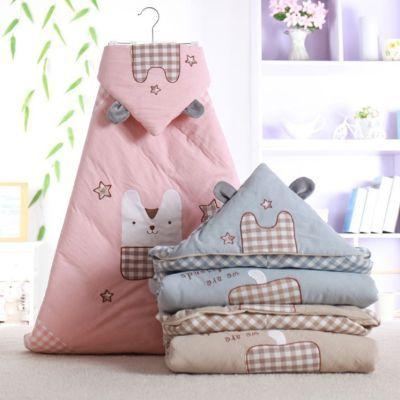 婴儿用品秋冬新款包被新生儿抱被纯棉婴童全棉加厚抱毯防惊跳睡袋
