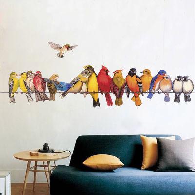 手绘创意个性墙贴画卧室客厅贴纸墙面壁纸自粘玄关墙上装饰品贴图