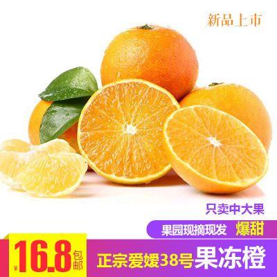 四川丹棱爱媛38号果冻橙新鲜水果橘子手剥橙子脐橙桔子多规格