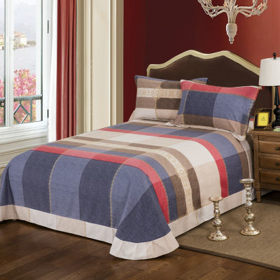 纯棉床单单件全棉加厚磨毛单双人被单秋冬季保暖1.5m1.8m2.0m米床