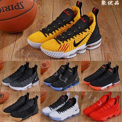 詹姆斯16代篮球鞋高帮2018新款首发透气耐磨实战李小龙传奇黑金金