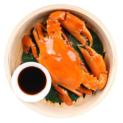 三门湾青蟹2斤鲜活红膏海蟹鲜活水产海鲜公母大螃蟹礼盒现捕现发
