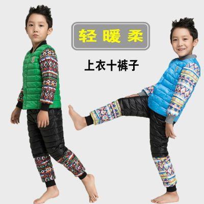 新款�和�棉衣�饶�男女童羽�q棉服保暖套�b小�����p薄款棉�\外套冬