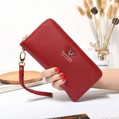 2018新款钱包女长款韩版女学生钱夹休闲手机包大容量女士手拿包女