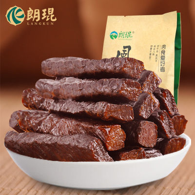 朗琨风干牛肉干 草原手撕牛肉干 内蒙古特产零食风干牛肉158g辣味