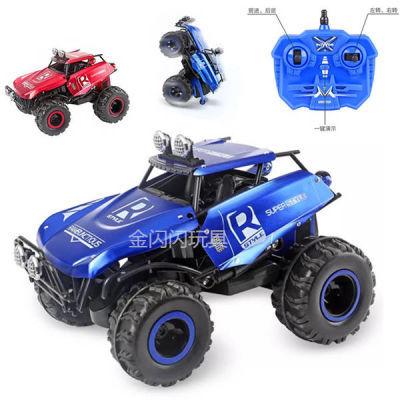 惯性四驱越野车儿童男孩模型车抗耐摔玩具车宝宝小汽车儿童玩具车 土