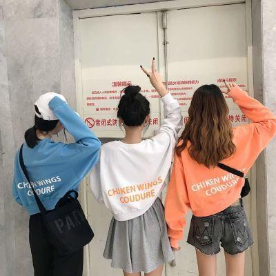 衣服女学生韩版宽松七分袖原宿风小外套女褂子女古风齐胸襦裙宽松