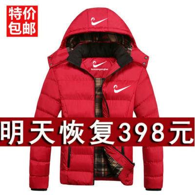 反季羽绒棉服男棉衣短款韩版特价大码中青年学生冬装加厚保暖爸爸