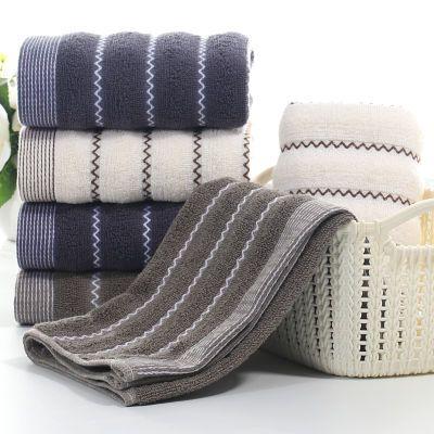 【100%纯棉毛巾1-4条】家用洗脸大毛巾柔软吸水不掉毛加厚批发
