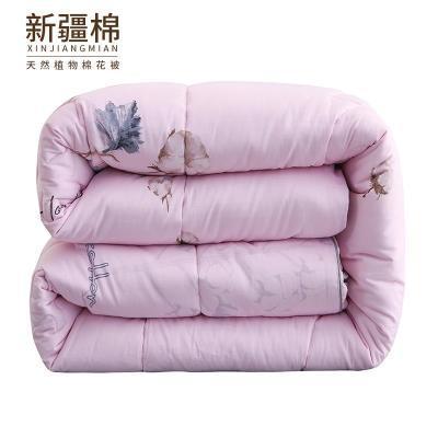 10斤棉花被芯盖铺用里外全棉新疆棉花被加厚被子纯棉冬被保暖被芯