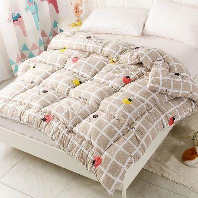 被子冬被单人棉被学生被芯女寝室宿舍双人丝绵非全棉加厚保暖冬季