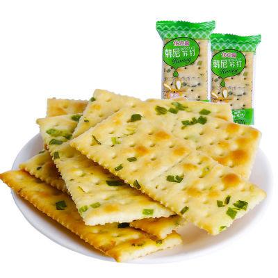【片片有香葱】香葱苏打饼干1000g 养胃无糖苏打饼干250g