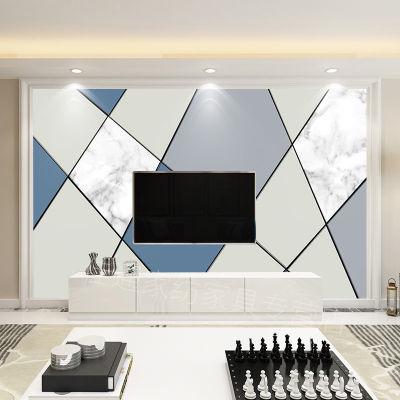 定制壁画北欧现代简约风格3d电视背景墙影视墙壁纸墙布沙发墙纸8d