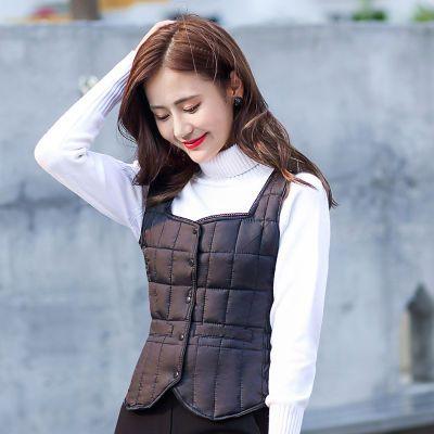 针织马甲背心女学生女装秋装女式棉袄背心生韩版内穿芊艺女装掉单