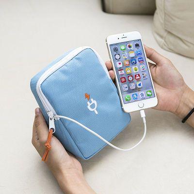 旅行数码收纳包便携硬币数据线充电宝手机包U盘耳机TF SD卡收纳袋