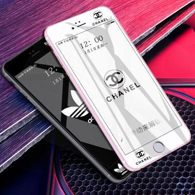 vivox9/x9s/r11/x20/y66/y67/x7潮牌钢化膜全屏手机贴膜y83男女款