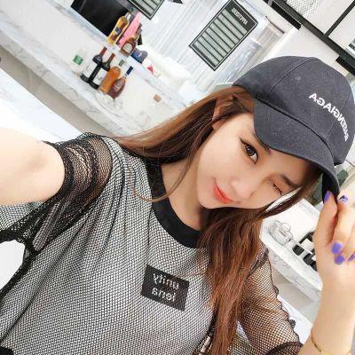 2019夏季女装新款韩版学生宽松大码印花上衣T恤网纱ulzzang短袖潮