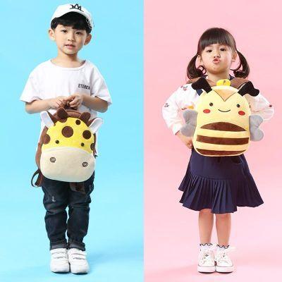 儿童毛绒背包幼儿园书包包小班中班大班包韩版可爱双肩包迷你卡通