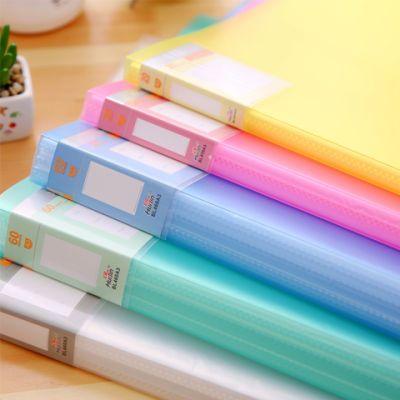 卷子袋钱币收藏册学生夹垫板透明档案夹试卷收纳袋文件夹手账本韩