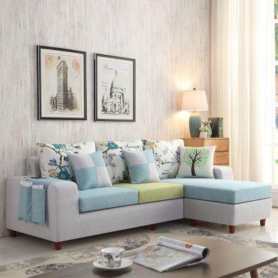 用可折叠客厅单人双人三人小户型简易沙发床懒人布艺出租房沙发