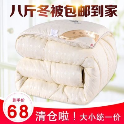 冬季被子冬被加厚保暖全棉双人春秋被芯太空被单人棉被褥学生宿舍