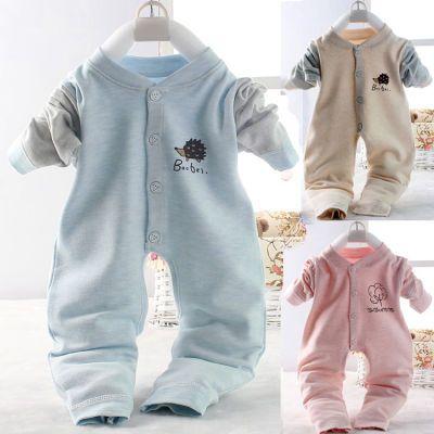 连体衣婴幼儿衣服男宝宝棉孩子的衣服秋天的衣新年发光衣女夏套装男春